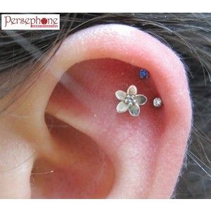 cute+unique+ear+piercings | Those cartilage piercings are so cool Ear Piercings