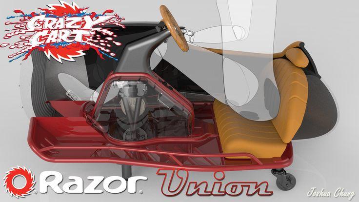 Crazy Cart Union - Solid Edge,STEP / IGES,Solid Edge,Parasolid - 3D CAD model - GrabCAD