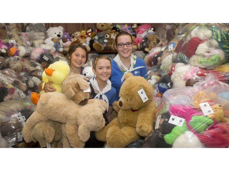 Calgary police put nearly 5,000 teddy bears behind bars! http://calgaryherald.com/news/local-news/calgary-police-put-nearly-5000-teddy-bears-behind-bars