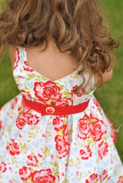 Kinley's Cascading Flounce Top & Dress. PDF sewing pattern for toddler girl sizes 2t - 12. - Simple Life Company
