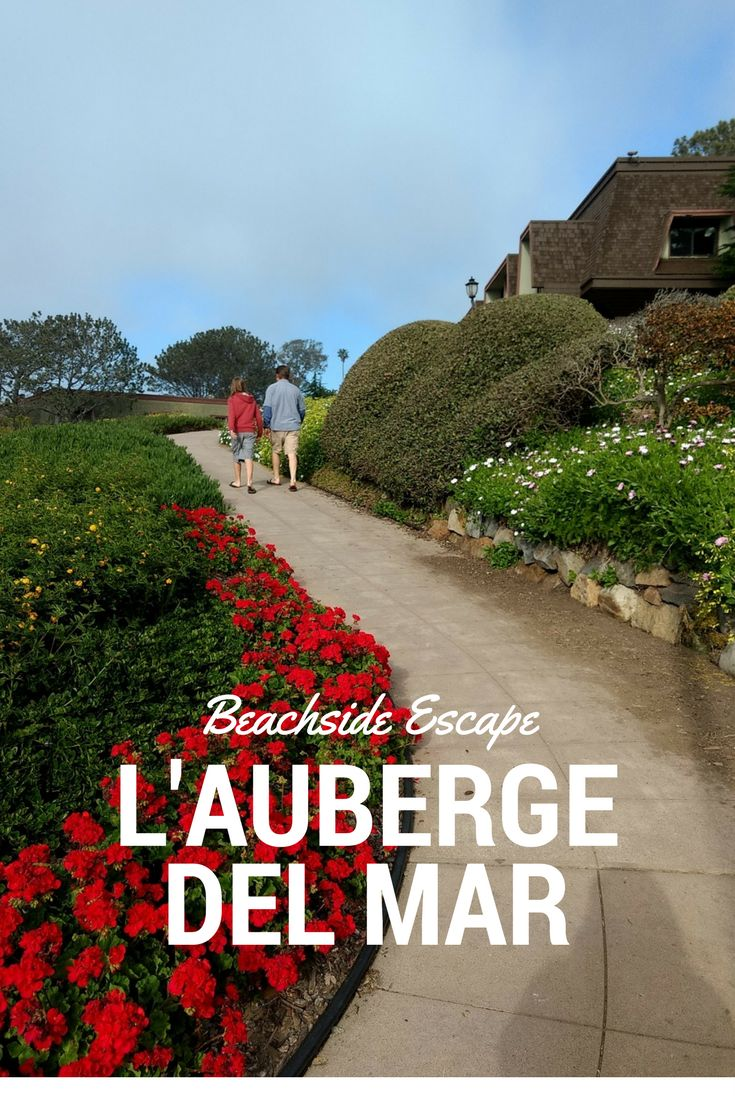 Looking for a San Diego resort? Look no further than L'Auberge Del Mar, a family friendly, upscale beach resort just a few miles north of San Diego.