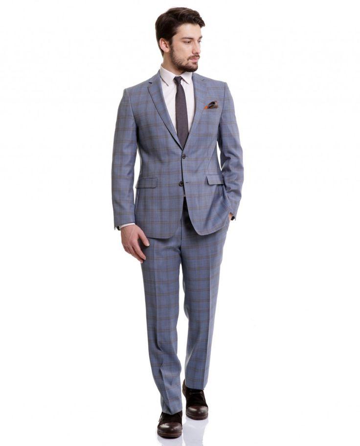 Karaca Erkek Takım Elbise - Mavi #gentleman #suit #takımelbise #karaca #ciftgeyikkaraca  www.karaca.com.tr