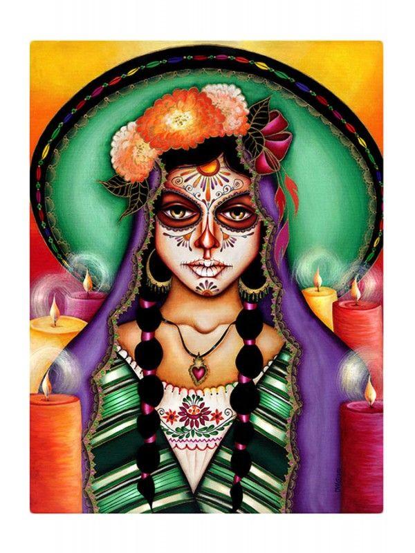 Black Market Art Company Ilumina Mi Camino Art Print