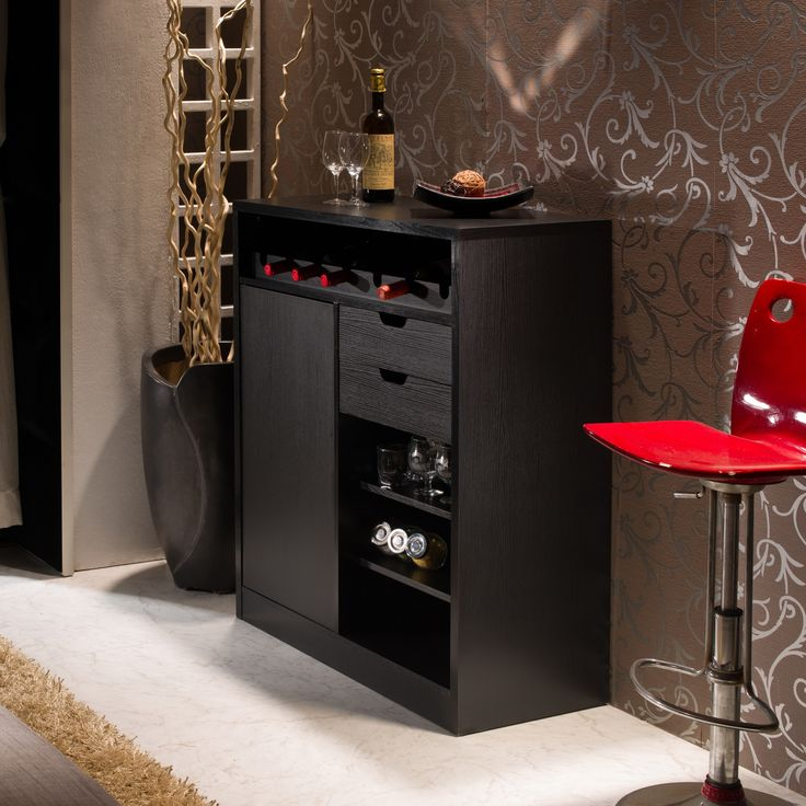 The Sleek Design Of This Handy Buffet Can Easily Complement Any Modern Decor While Providing Ample
