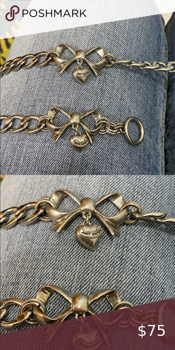 Juicy Couture Bow Necklace & Bracelet in 2020 Bow