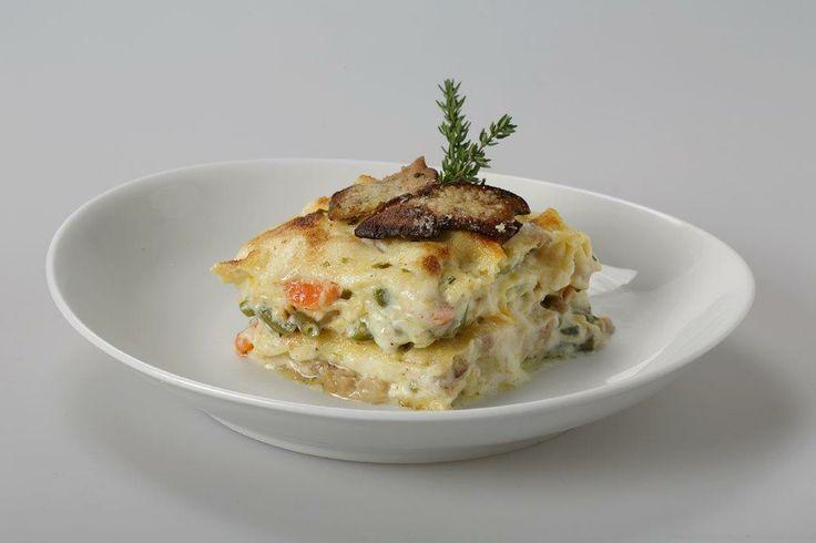 Vegetables Lasagne with Porcini