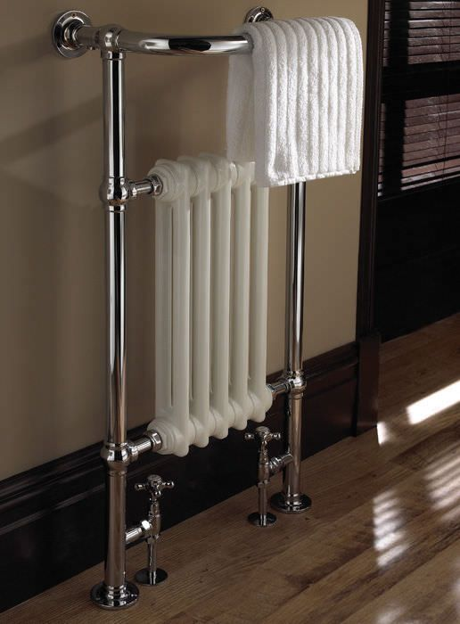 Sèche-serviettes à eau chaude / vertical / en fonte / mural MALMO 5/6 IMPERIAL BATHROOMS