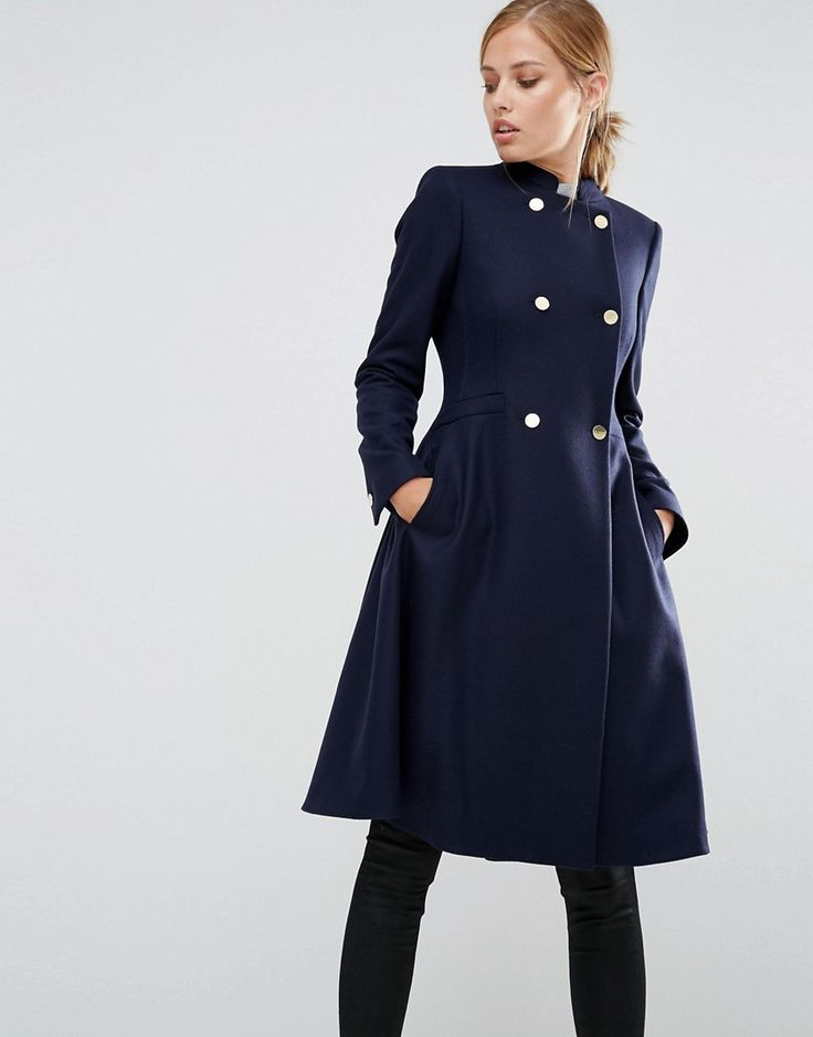 Ted Baker Indego Fit And Flare Coat ️ ️ Winter Warmer