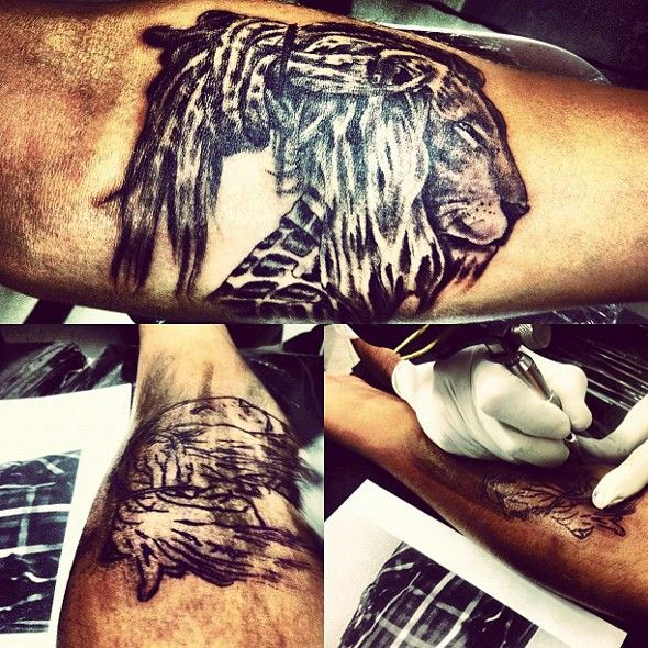 Tatoo do Caio Castro (lindo de bonitoo ♥)