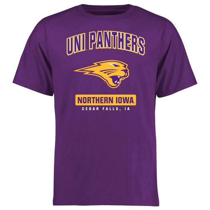 Northern Iowa Panthers Big & Tall Campus Icon T-Shirt - Purple - $24.99