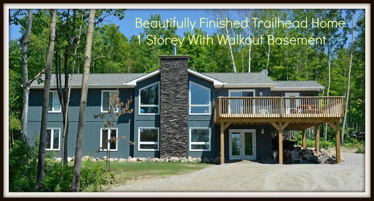 Beautiful Trailhead Model Completed Astorville, ON www.baybuilders.ca