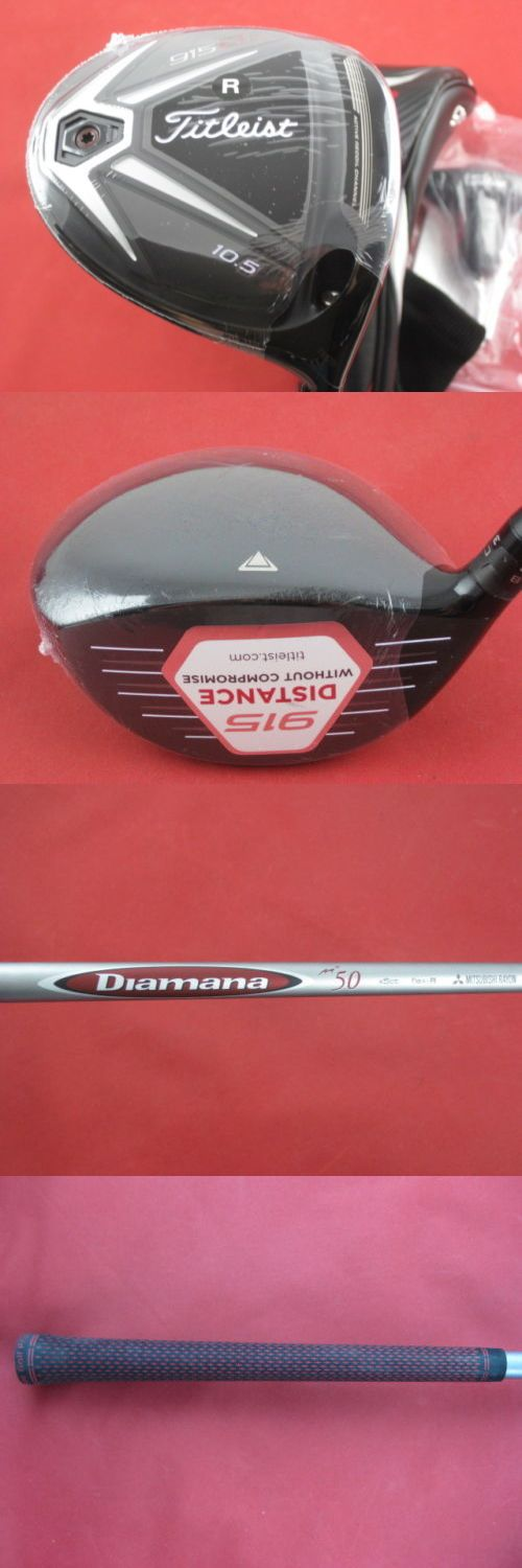 Golf Clubs 115280: New Titleist 915 D2 10.5* Driver Diamana M+ 50 Graphite Regular W/ Hc + Wrench -> BUY IT NOW ONLY: $239.99 on eBay!