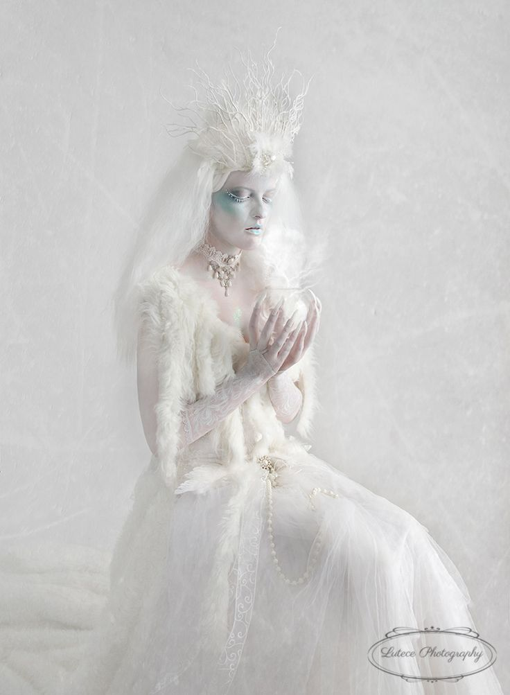 Snow Queen holds a smoking glass bowl, what does she seek to know. http://www.lutecephotography.co.nz/site/#/home/