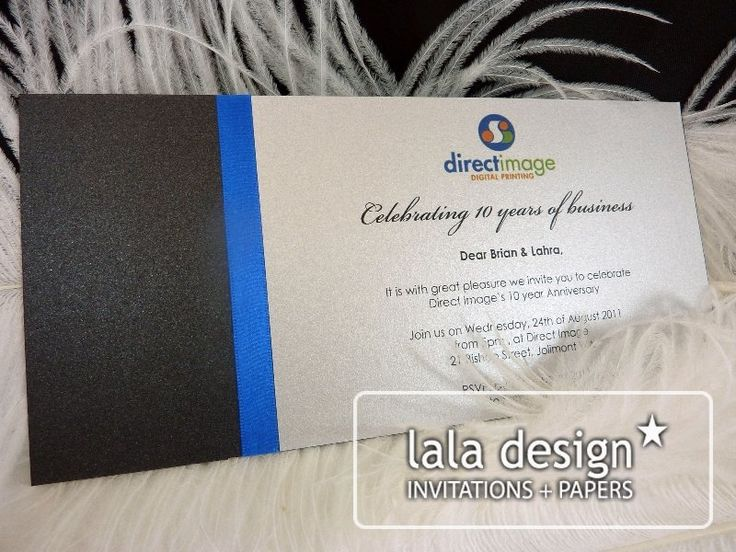 Corporate invitation