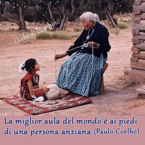 La migliore aula del mondo è ai piedi di una persona anziana