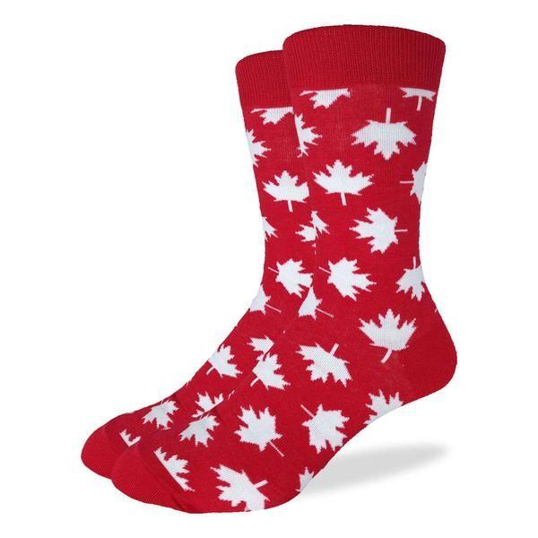 Sock game strong 🇨🇦 from Good Luck Socks.