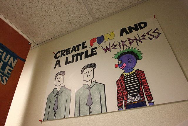 1000 images about values displayed in office on pinterest for Zappos office design