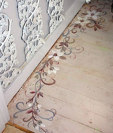 Floor Designs Ideas: Fabulous faux marquetry project by Joanie ...