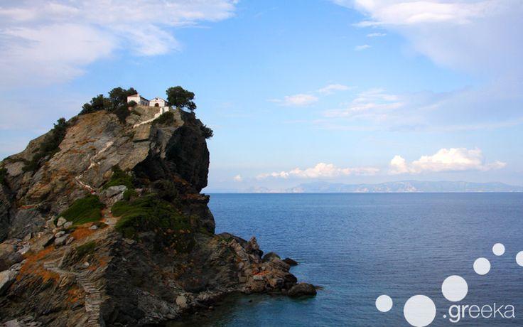 Weddings in Skopelos, the Mamma Mia church!