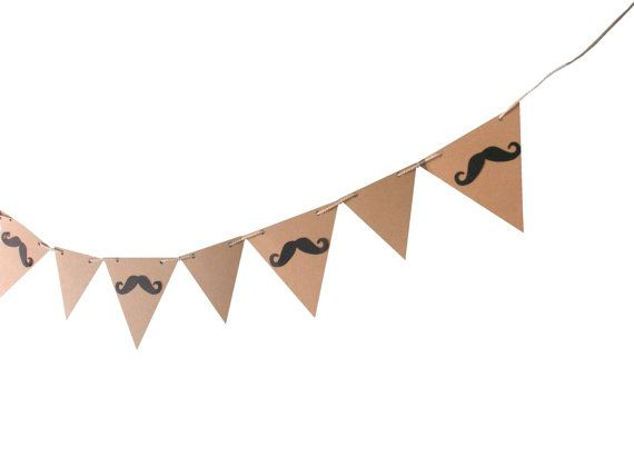 Mustaches banner Mustache party banner Mustache by MiniShopLV, $18.00