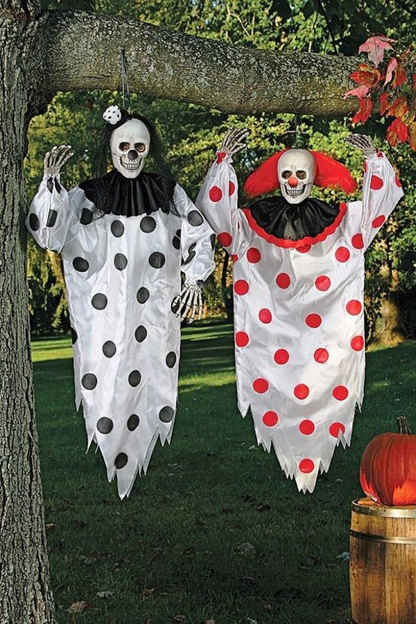 20 Cool And Scary Clown Halloween Decorations Home Design And - halloween decorations com