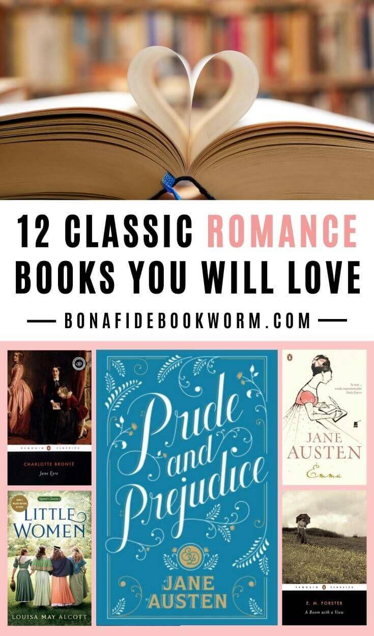 12 Classic Romance Books You Will Love Good Romance Books Romance Books Classic Romance