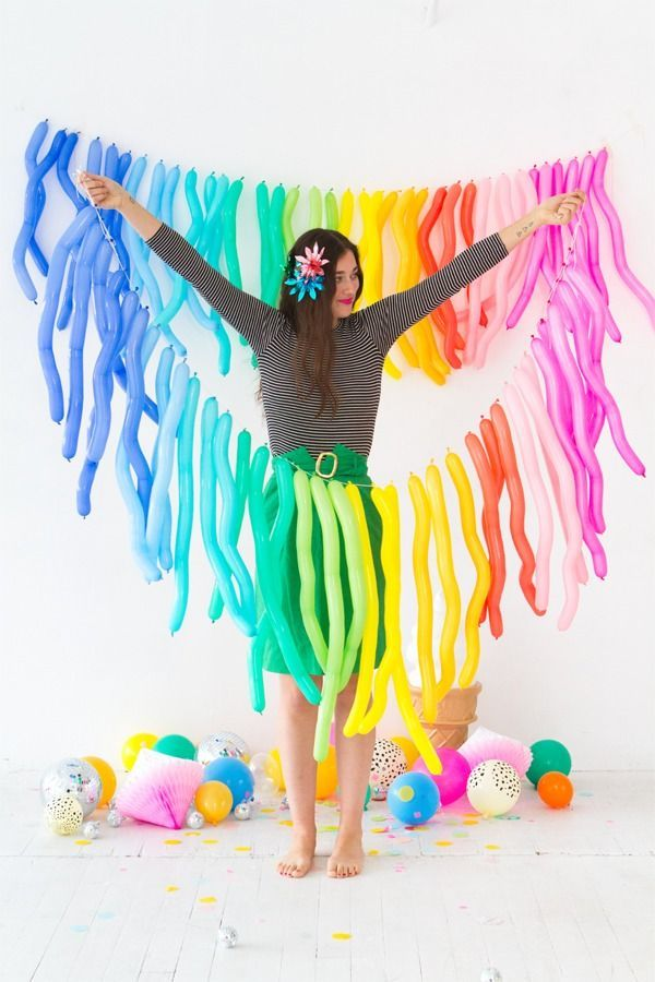 How to make your very own Zig Zag Balloon Garland.