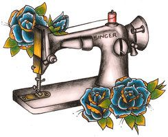 deviantART: More Like sewing machine by ~thejennerator1986