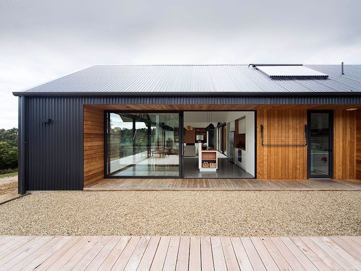 Steel & Cedar looking good paired together.  A cheaper way to use Cedar to clad the more prominent areas of your home while the steel can be used in places you don't see as often...