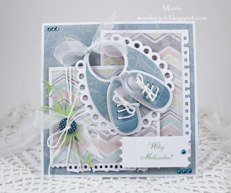 Card for a baby boy - Scrapbook.com