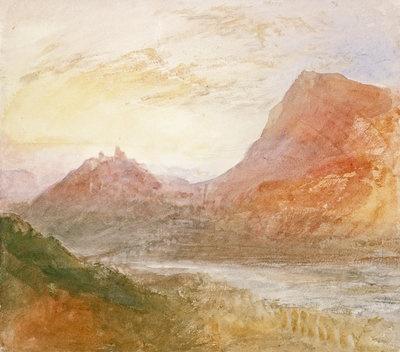 Sion, Rhone (or Splugen) by  Joseph Mallord William Turner