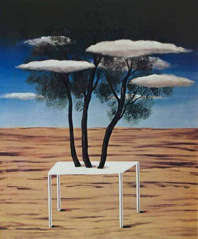 Oasis, 1925 By Rene Magritte #magritte #paintings #art