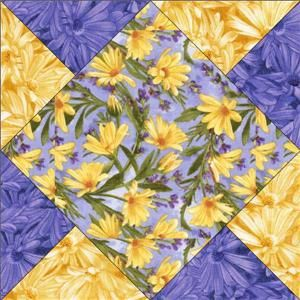 blue yellow rose fabric   Details about Blue Yellow Floral Fabric cut Quilt Kit Debbie Beaves