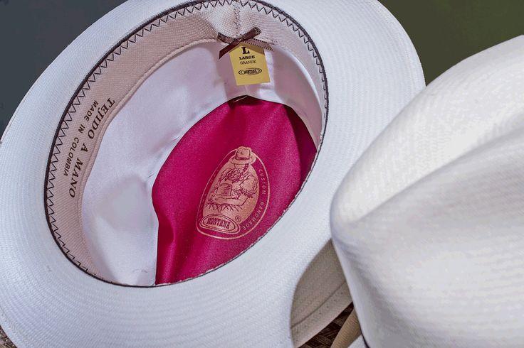 Presentacion interna - Sombrero Panameño Superfino - Panama Hat - Paja Toquilla - Tejido 100% a mano