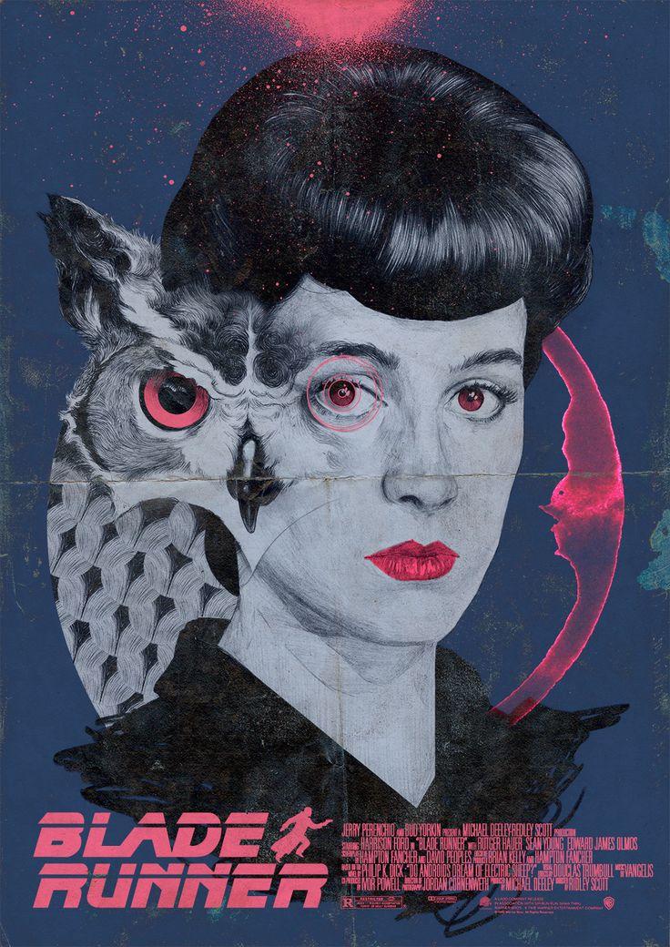 Blade Runner - Poster on Behance