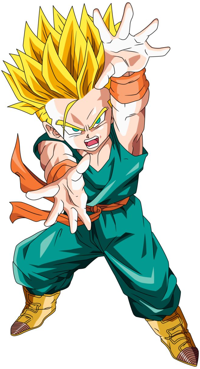 kid Trunks ssj2 by maffo1989 on DeviantArt