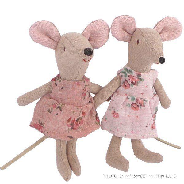 Maileg Flower Dress Mouse