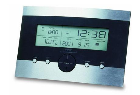 Estación meteorológica con función despertador.
