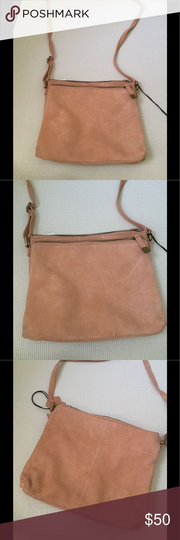 Margot genuine leather suede purse Brand new margot Bags Crossbody Bags