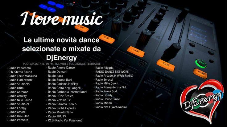 🗣 Da oggi siamo in rotazione su 28 fm, 10 web radio e una sul digitale terrestre‼ ''#ILoveMusic'' di Gaspare Raia aka #EnergyDJ ‼ 🎧🙌🏻🎧