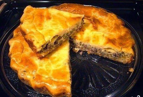 Мясной пирог - легко!