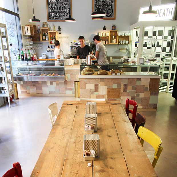 """Pavé Milano: Bakery, pastry shop and food laboratory mix with the ideal """"Grandma's house"""" living room in Milan"""