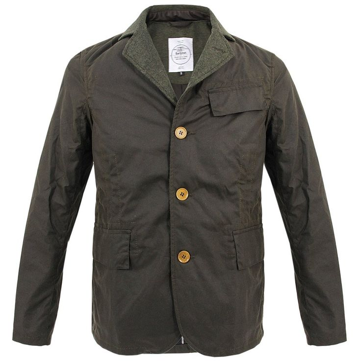 Barbour X Norton and Sons Jones Olive Waxed Jacket MWX0735OL71
