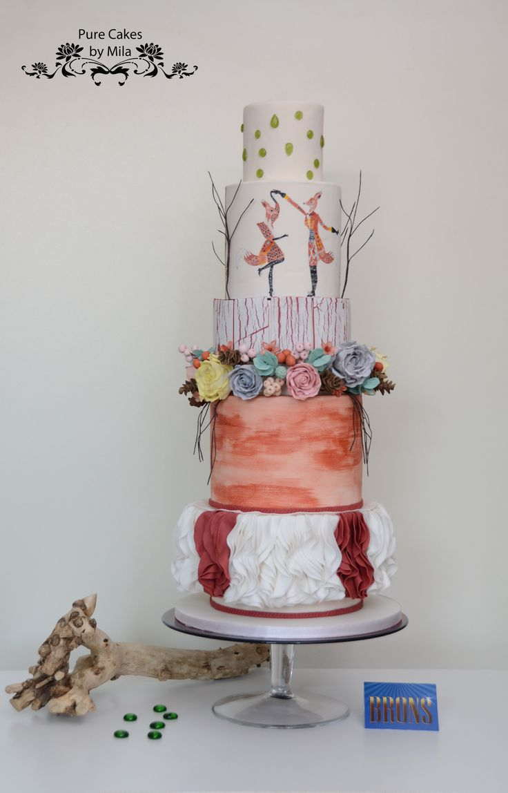 Cake Art Design School : 17 best images about Pure Cakes by Mila - Cakes on ...
