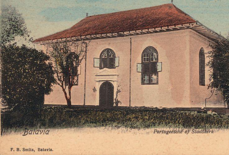 Portuguese church at Batavia.