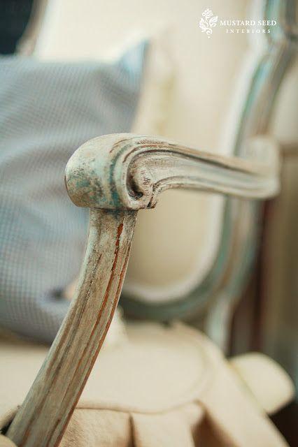 making furniture look vintage!