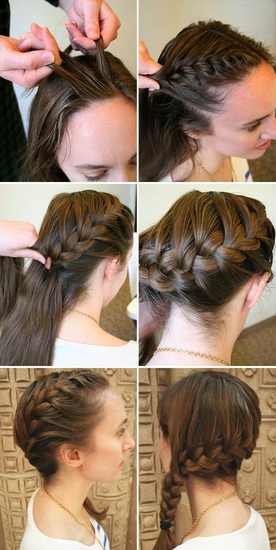 Braided Bangs Tutorial: How Do Side French Braids Bangs - http://www.wondroushairstyles.com/braided-bangs-tutorial-how-do-side-french-braids-bangs.html