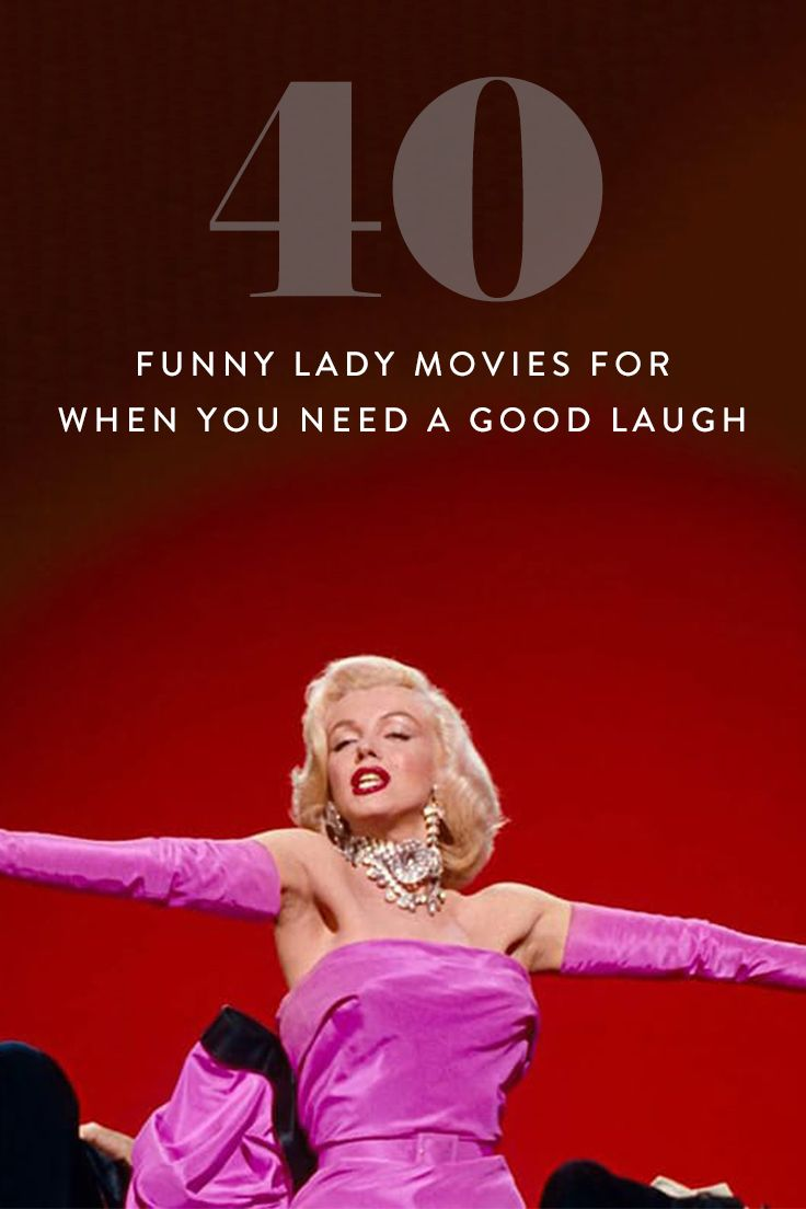 40 Funny Lady Movies for When You Need a Good Laugh via @PureWow via @PureWow
