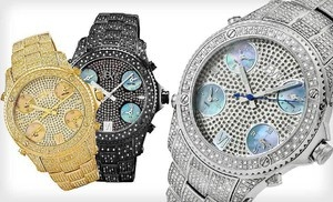 Groupon - Men's and Women's JBW Watches (Up to 94% Off). 17 Styles Available. Free Returns. in Online Deal. Groupon deal price: $115.0.00
