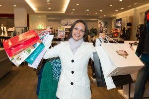 Nakupování ve výprodejích